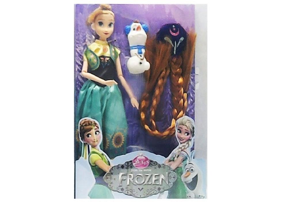 عروسک فروزن frozen  با مو کد 01119
