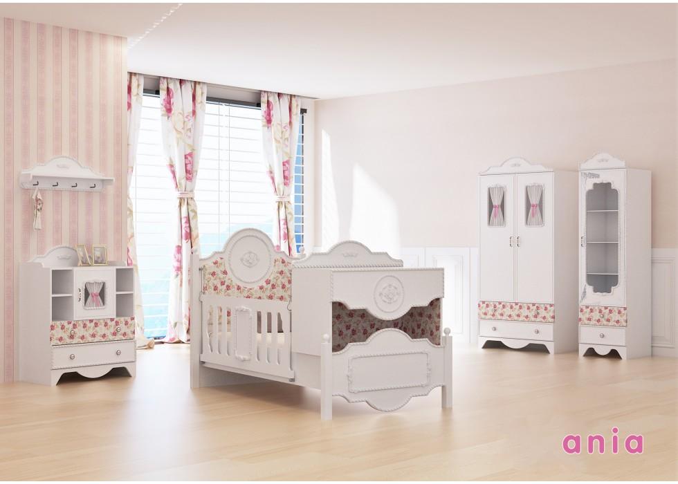 سرویس تخت و کمد نوزاد نوجوان مدل آنیا