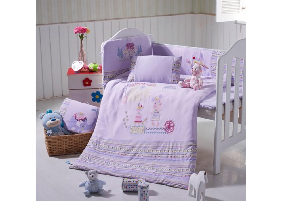 سرویس خواب تخت نوزاد نوجوان برند CarterLiebe-کدD14-310