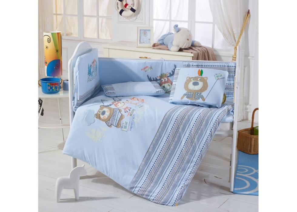 سرویس خواب تخت نوزاد نوجوان برند CarterLiebe-کدD14-311