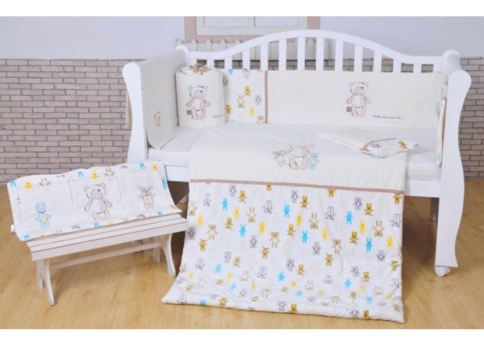 سرویس خواب تخت نوزاد نوجوان برند mamas & papas-کد7213