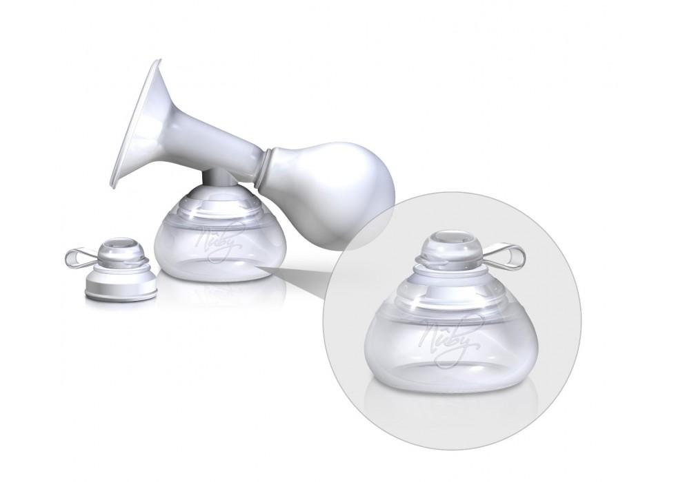 شیردوش دستی با محفظه شیر نابی Nuby کد 67659
