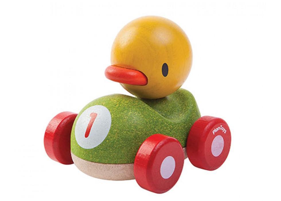 اردک ماشین سوار   پلن تویز  planToys کد 5678