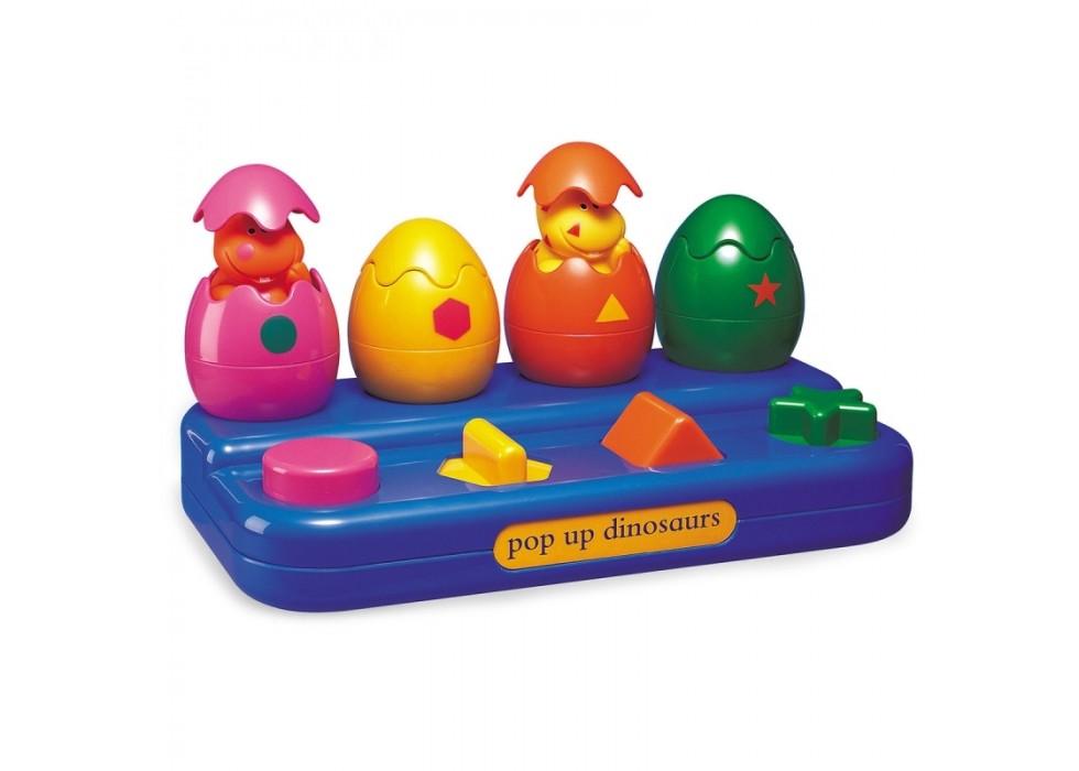 اسباب بازی دایناسور پرشی برند تولو TOLO _ کد89200 تخم مرغ  دایناسور پرشی