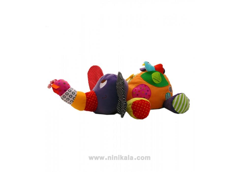 عروسک مدل فیل  برند  لمز lamaze