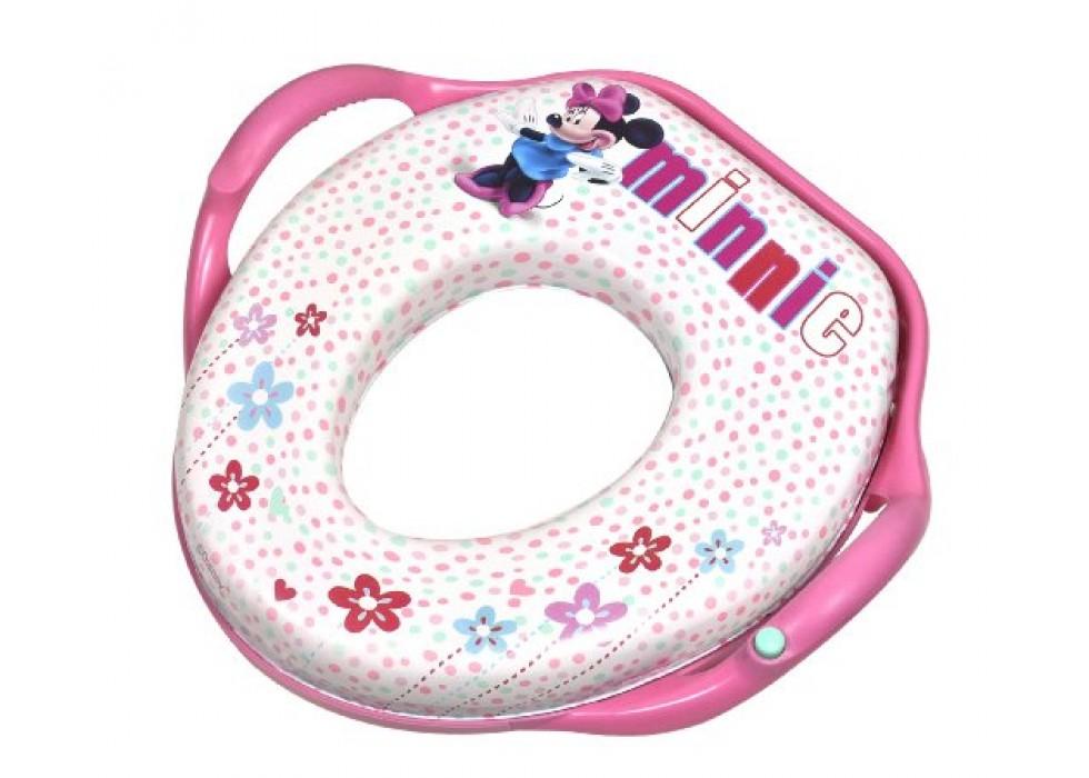 تبدیل توالت فرنگی   کودک طرح میکی موس فرست یرز The First Years  _ کد9910 میکی  موس  سفید با حاشیه صورتی