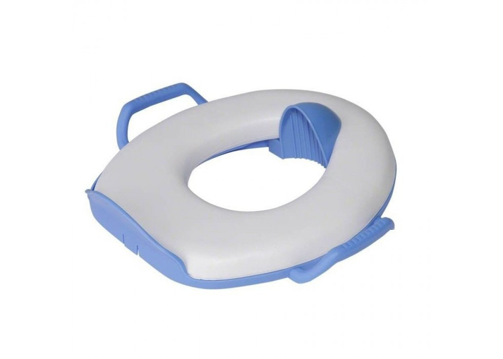 تبدیل توالت فرنگی کودک  فرست یرز The First Years _   کد 4006 ساده سفید با حاشیه یاسی