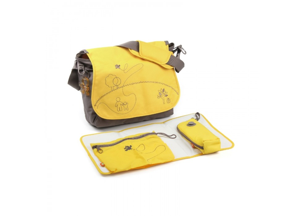 ساك لوازم 4 تکه زرد برند OKIEDOG- کد28303