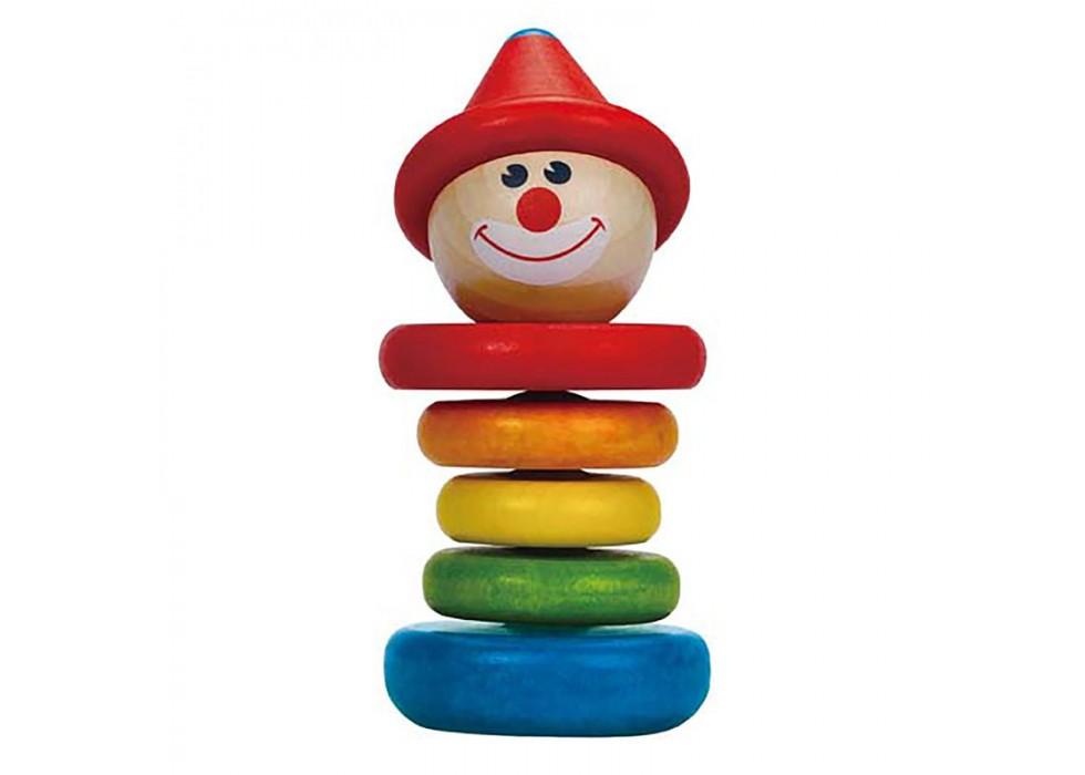 جغجغه چوبی برند هاپه-Hape مدل Happy Clown Rattle