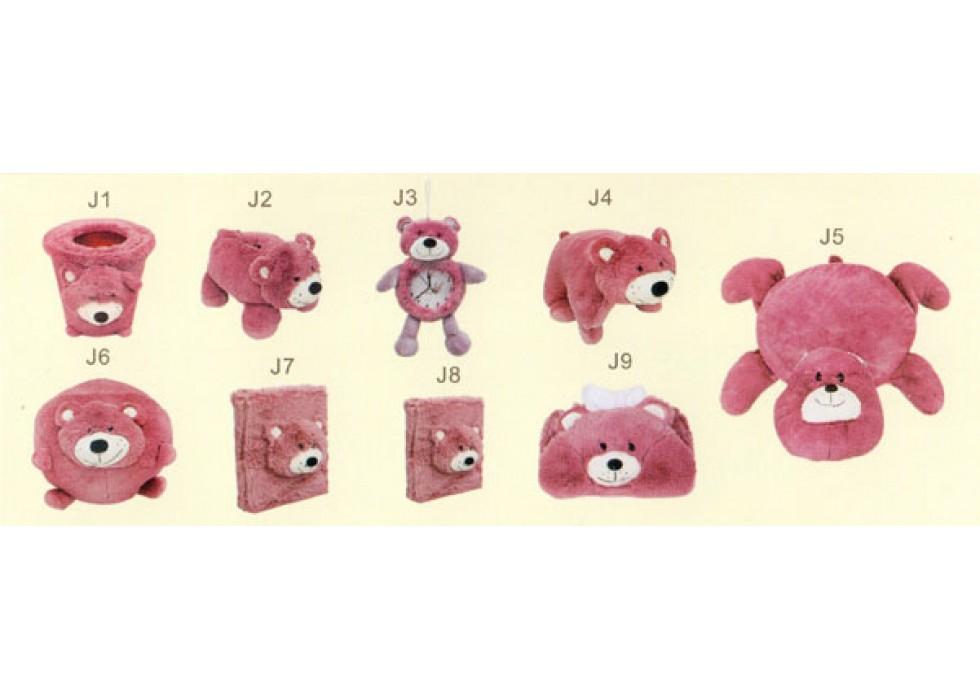 ست پولیشی سیسمونی و اتاق کودک مدل خرس Red Bear