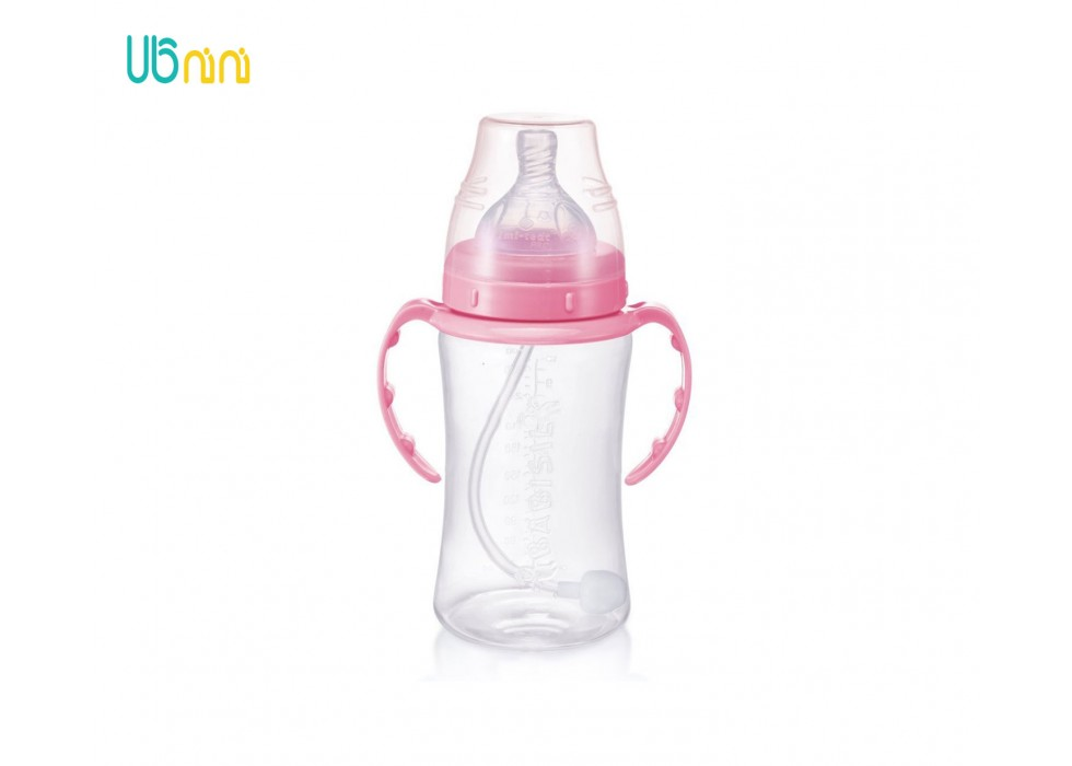 شیشه شیر 300ml PP  دسته دار  بی بی سیل-Babisil کد 4700