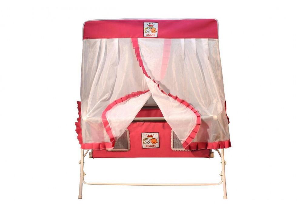 تخت و گهواره نوزاد شادی-Shadi صورتی