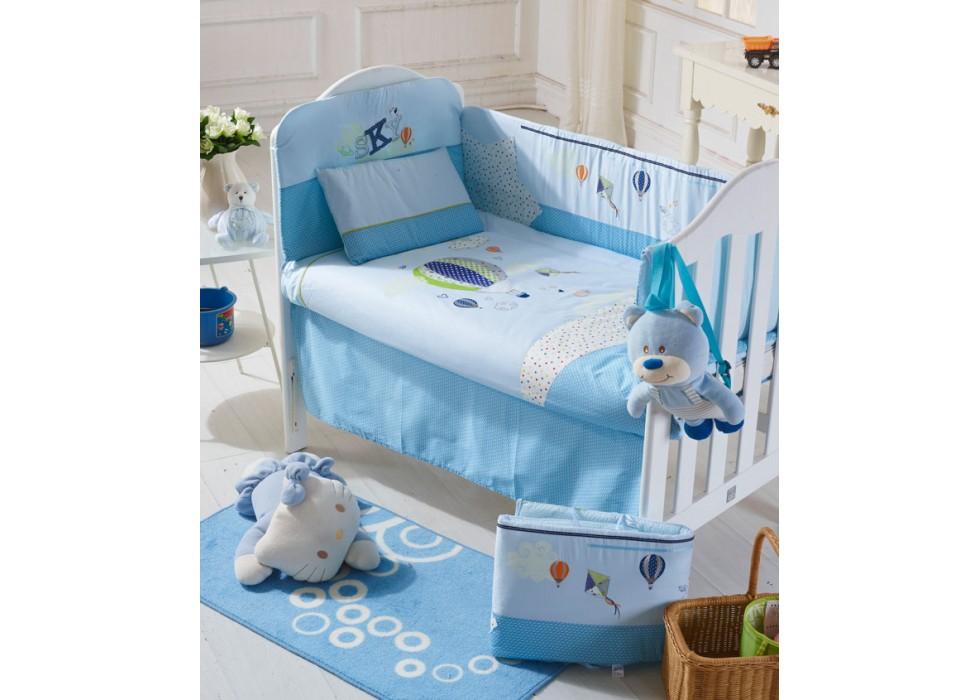 سرویس خواب تخت نوزاد نوجوان برند CarterLiebe-کدE-B14-197