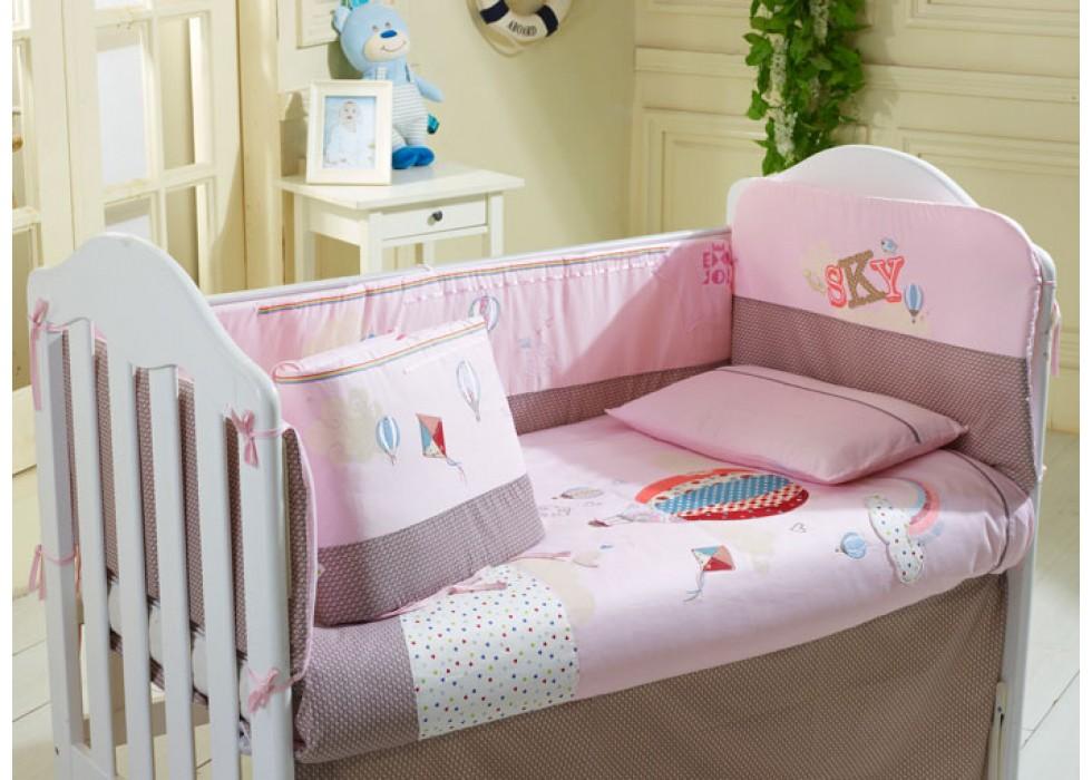 سرویس خواب تخت نوزاد نوجوان برند CarterLiebe-کدE-B14-116