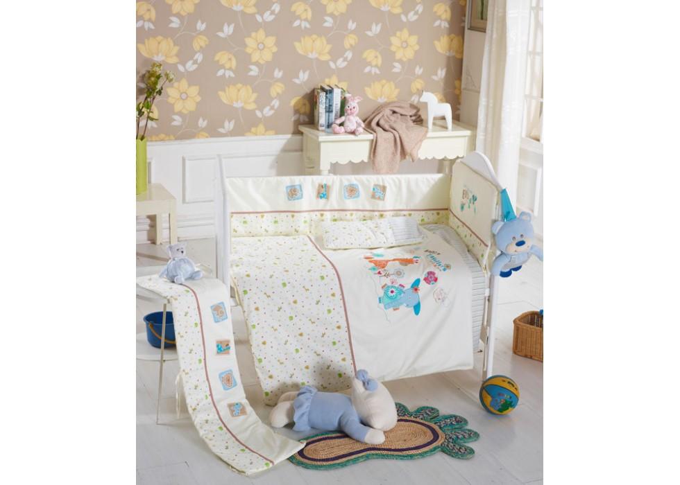 سرویس خواب تخت نوزاد نوجوان برند CarterLiebe-کدC13-105