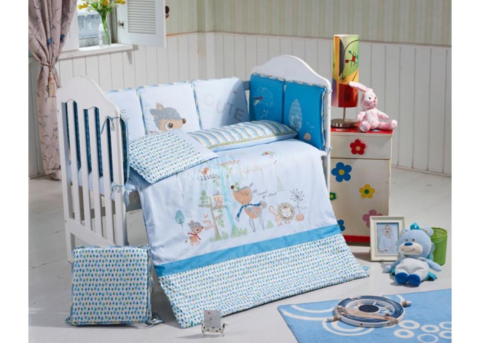 سرویس خواب تخت نوزاد نوجوان برند CarterLiebe-کدD14-322