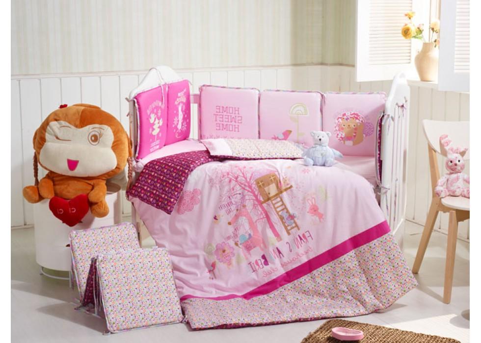 سرویس خواب تخت نوزاد نوجوان برند CarterLiebe-کدD14-321
