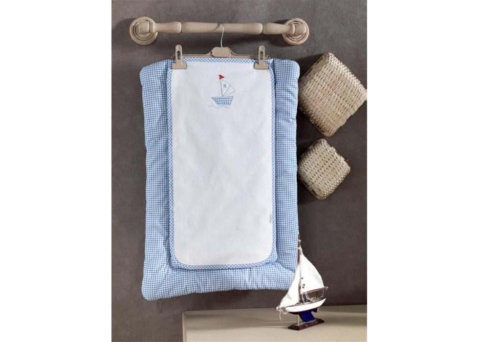 تشکچه تعویض نوزاد کیدبو-KidBoo مدل Blue Marine