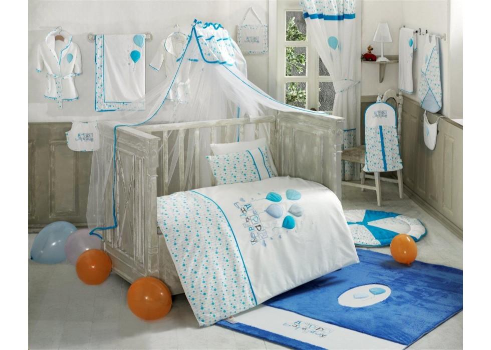 تور و آپارات بالای تخت نوزاد کیدبو-KidBoo مدل Happy Birthday