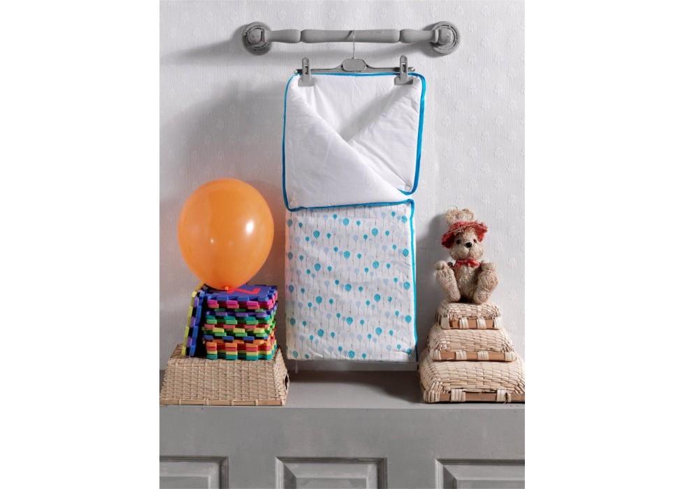 پتو قنداق دو کاره نوزاد کیدبو-KidBoo مدل Happy Birthday