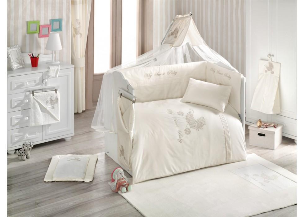 تور و آپارات بالای تخت نوزاد کیدبو-KidBoo مدل My Sweet Baby