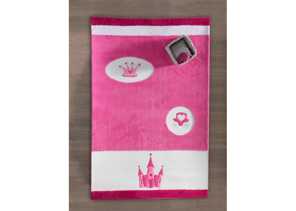 فرش اتاق کودک کیدبو-KidBoo مدل Princess