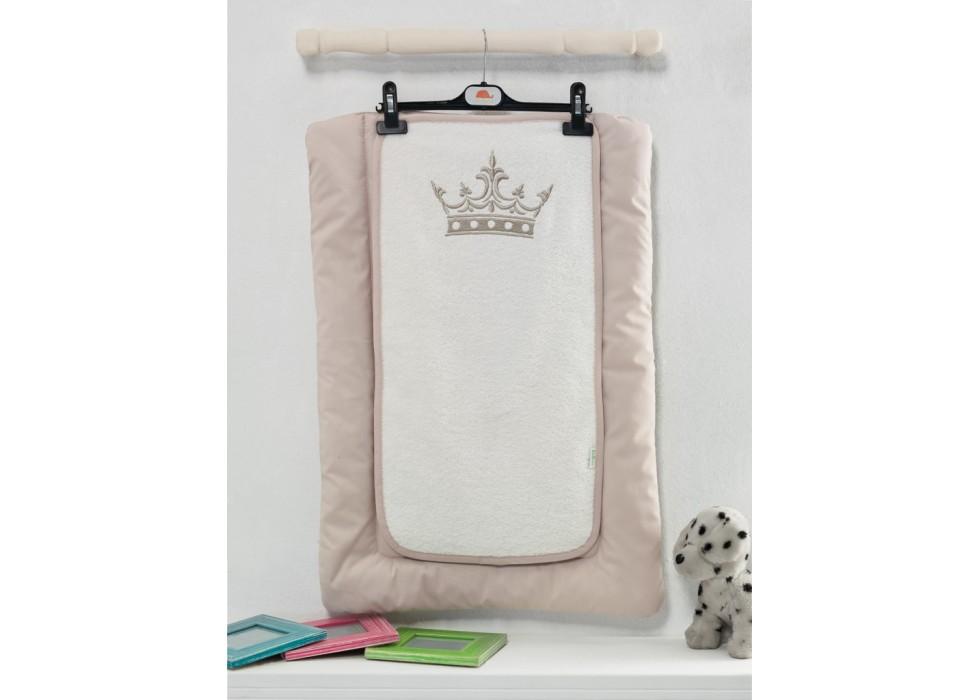 تشکچه تعویض نوزاد کیدبو-KidBoo مدل Royal Vanilla
