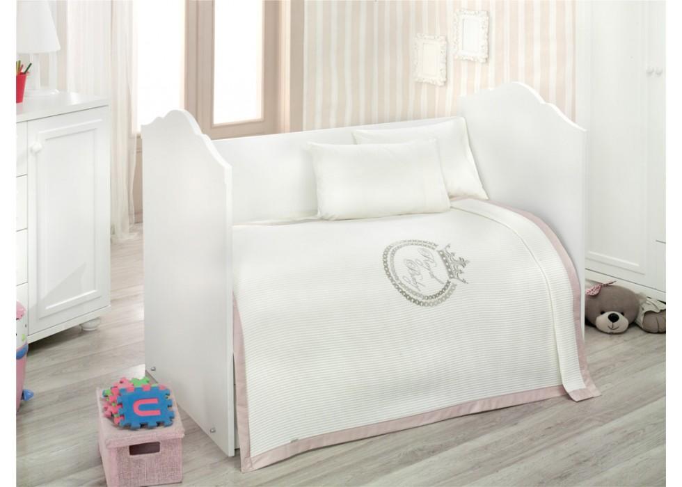 سرویس خواب 4 تکه کیدبو-KidBoo مدل Royal Vanilla