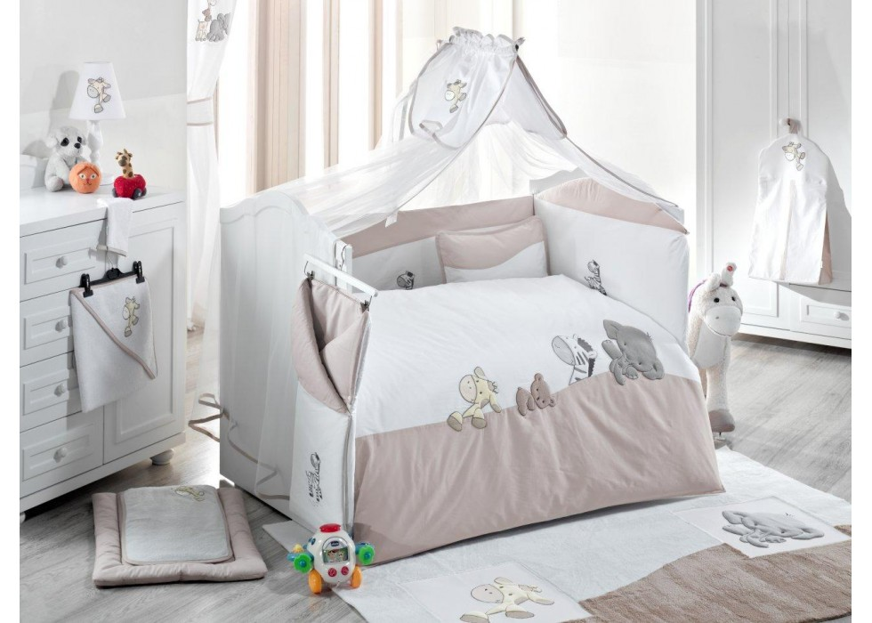 تور و آپارات بالای تخت نوزاد کیدبو-KidBoo مدل Safari