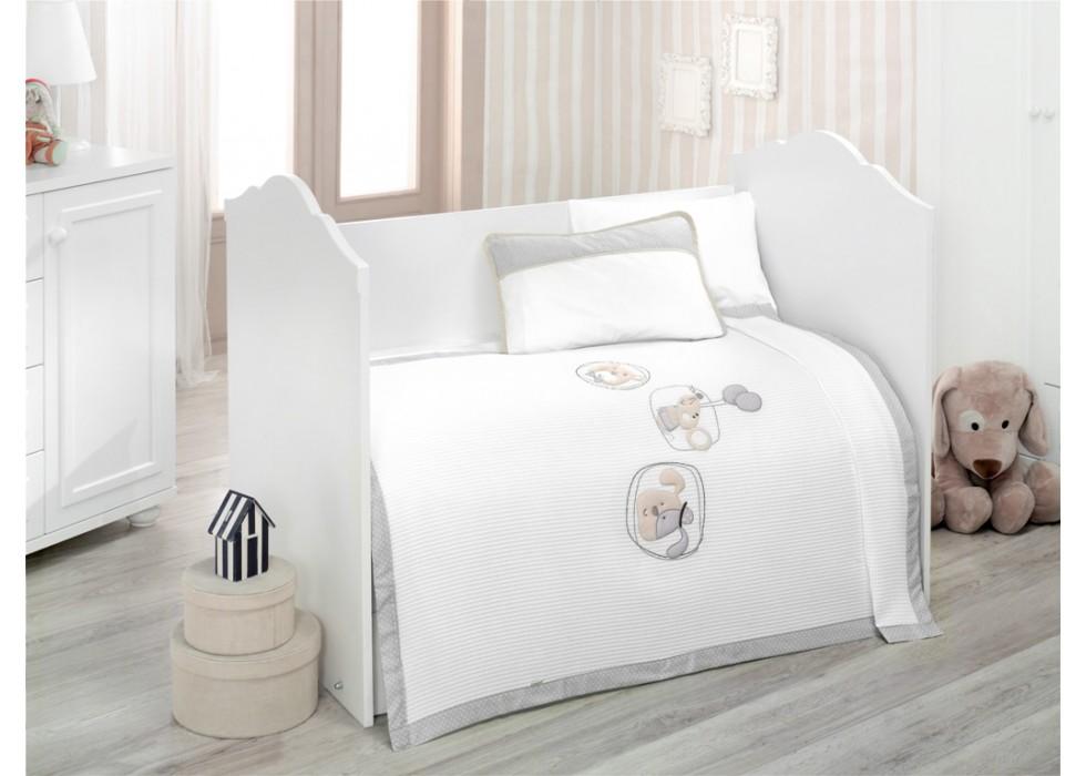 سرویس خواب 4 تکه کیدبو-KidBoo مدل Sweet Dreams