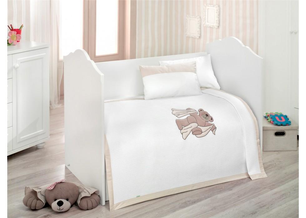 سرویس خواب 4 تکه کیدبو-KidBoo مدل Teddy Bobo