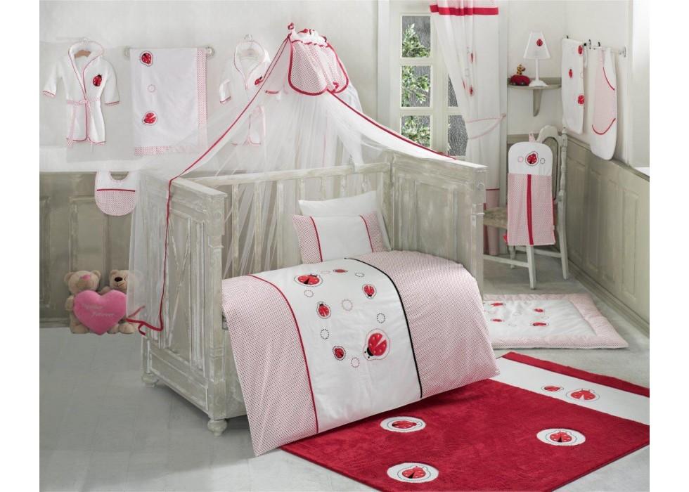 سرویس خواب 4 تکه کیدبو-KidBoo مدل Ladybug