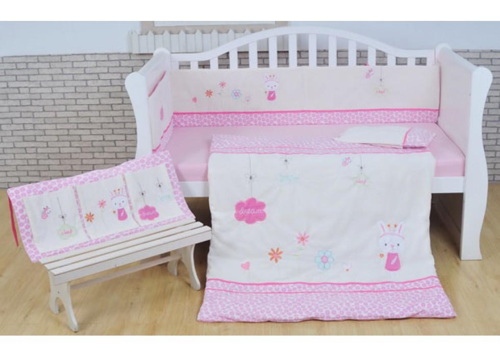سرویس خواب تخت نوزاد نوجوان برند mamas & papas-کد7207