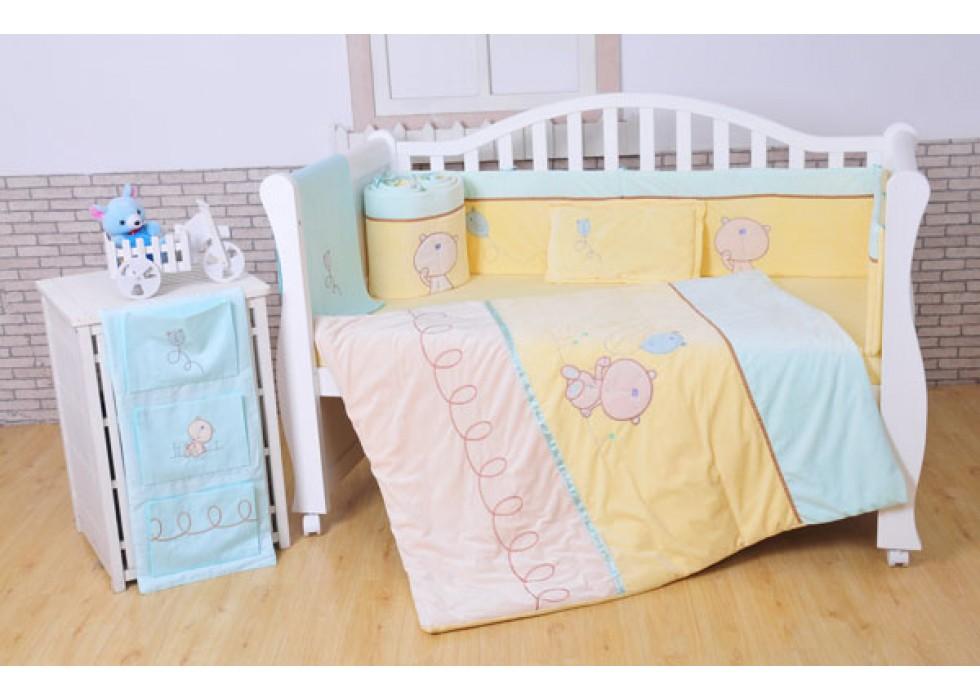 سرویس خواب تخت نوزاد نوجوان برند mamas & papas-کد7211