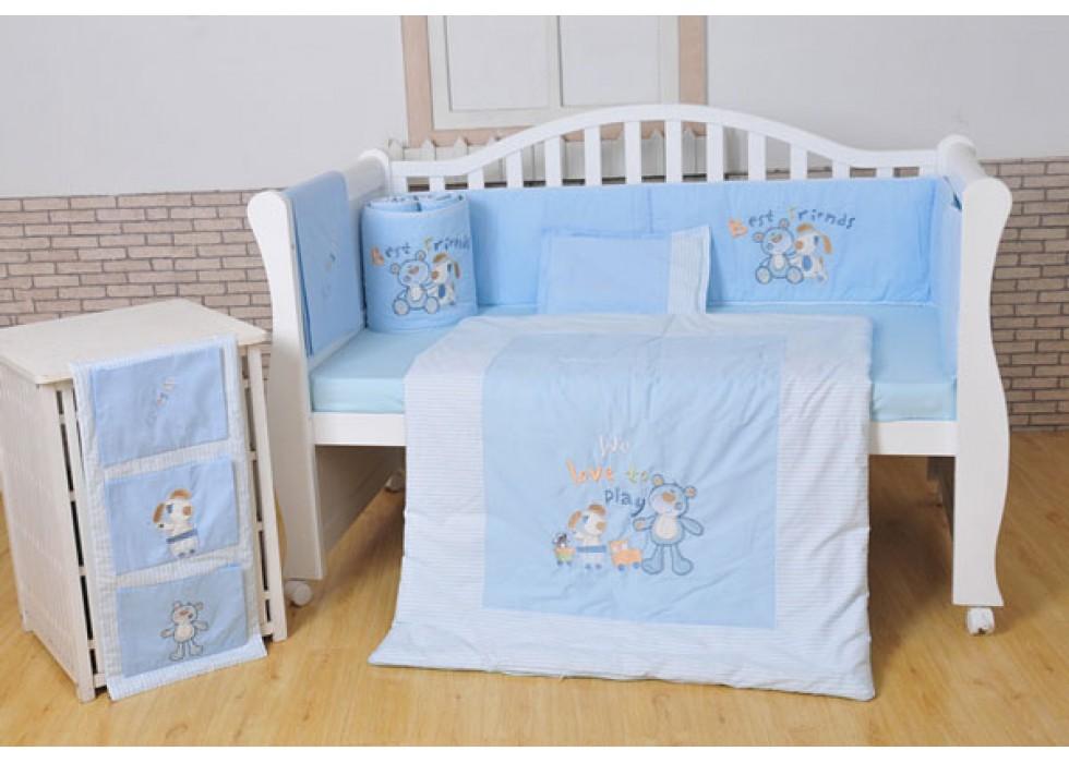 سرویس خواب تخت نوزاد نوجوان برند mamas & papas-کد7212