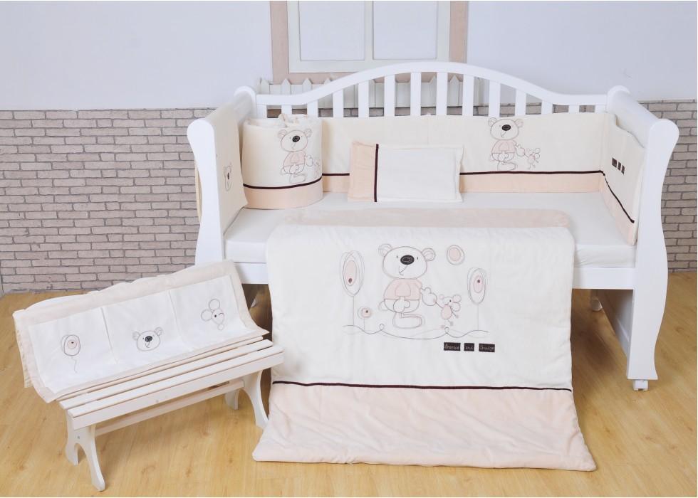 سرویس خواب تخت نوزاد نوجوان برند mamas & papas-کد7215