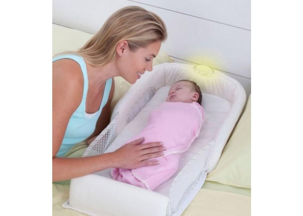تشک جای خواب نوزاد فرست یرز The First Years _  کد 3171 جاخواب سفید ساده