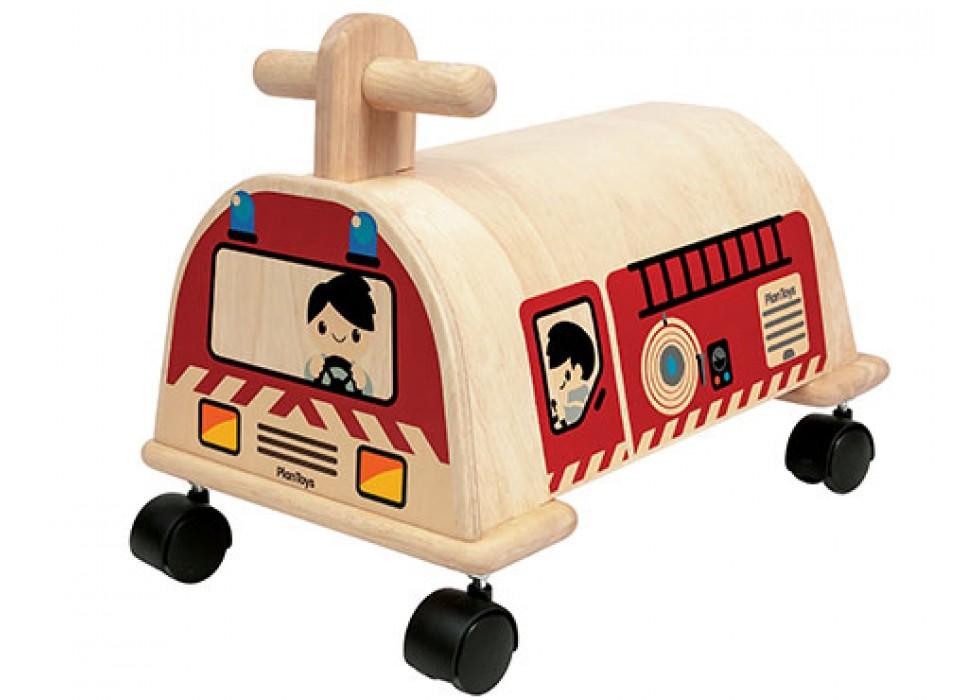 ماشین آتشنشانی  پلن تویز  planToys