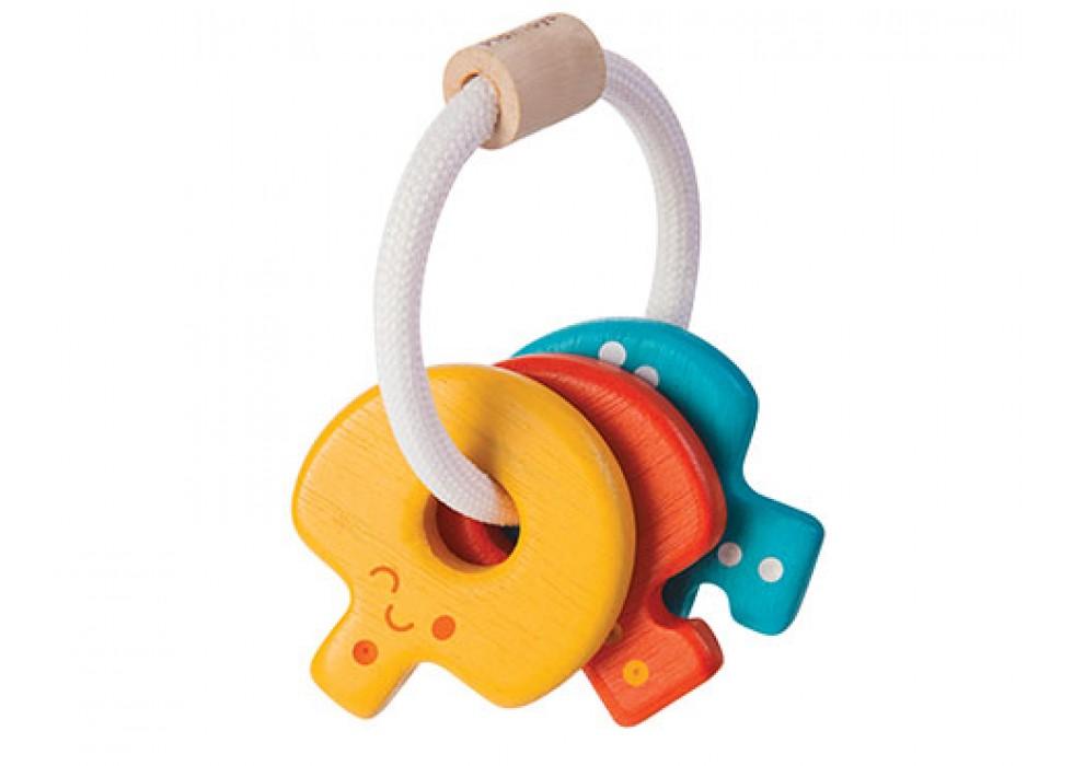 کلید بازی کودک راتل   پلن تویز  planToys