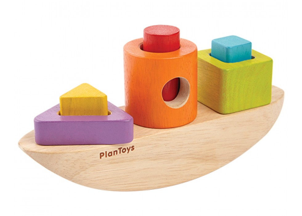 مرتب سازی _ قایق   پلن تویز  plan toys
