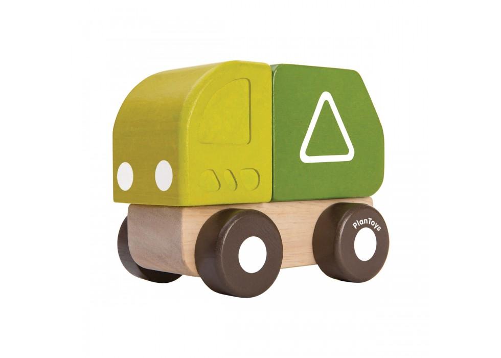 کامیون حمل زباله   پلن تویز  planToys