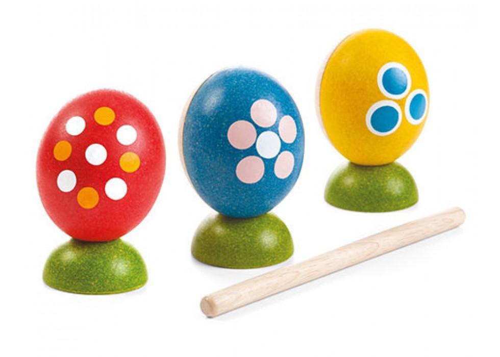 مجموعه تخم مرغ های رنگی پلن تویز  planToys