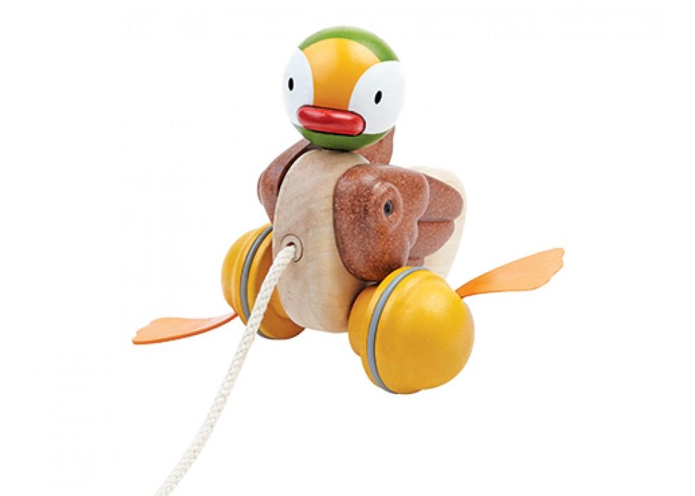 اردک  پلن تویز  planToys _ بنددار، پا زرد