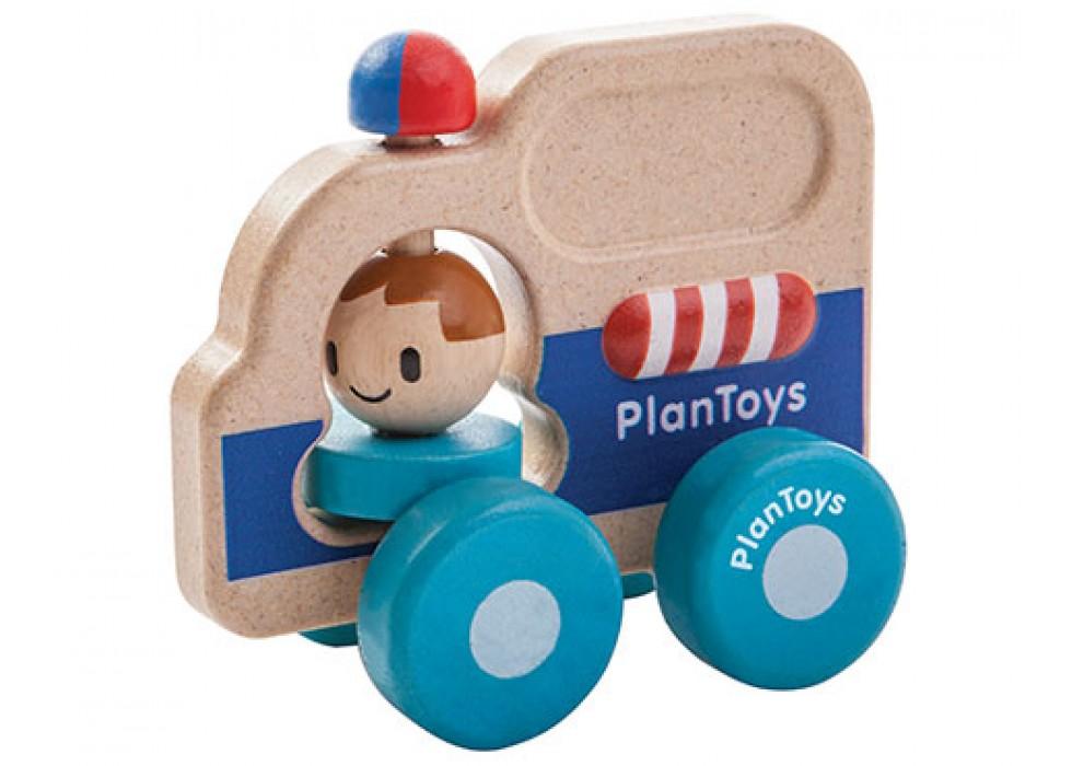 ماشین نجات  پلن تویز  planToys کد 5686