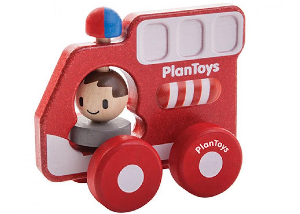 ماشین آتشنشانی  پلن تویز  planToys کد 5687