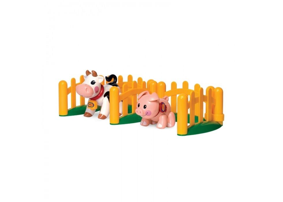 ست بچه خوک و گاو مزرعه TOLO- کد  89996
