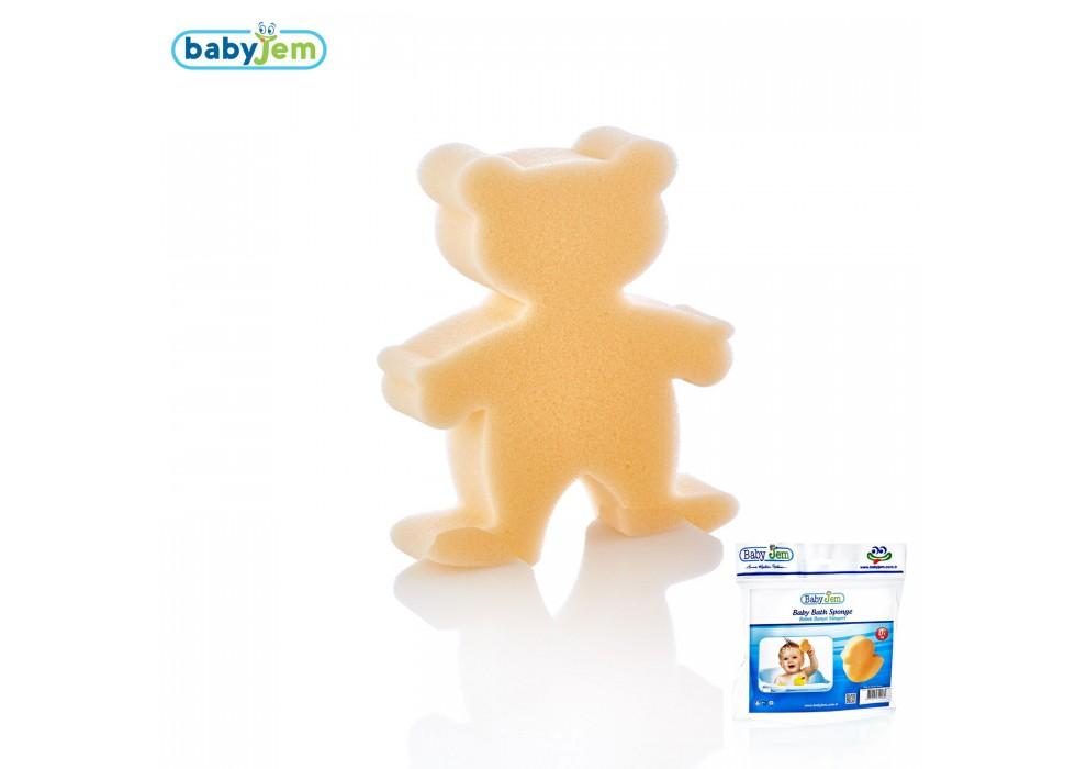 اسفنج شست و شوی بدن بی بی جم- BabyJem مدل خرس