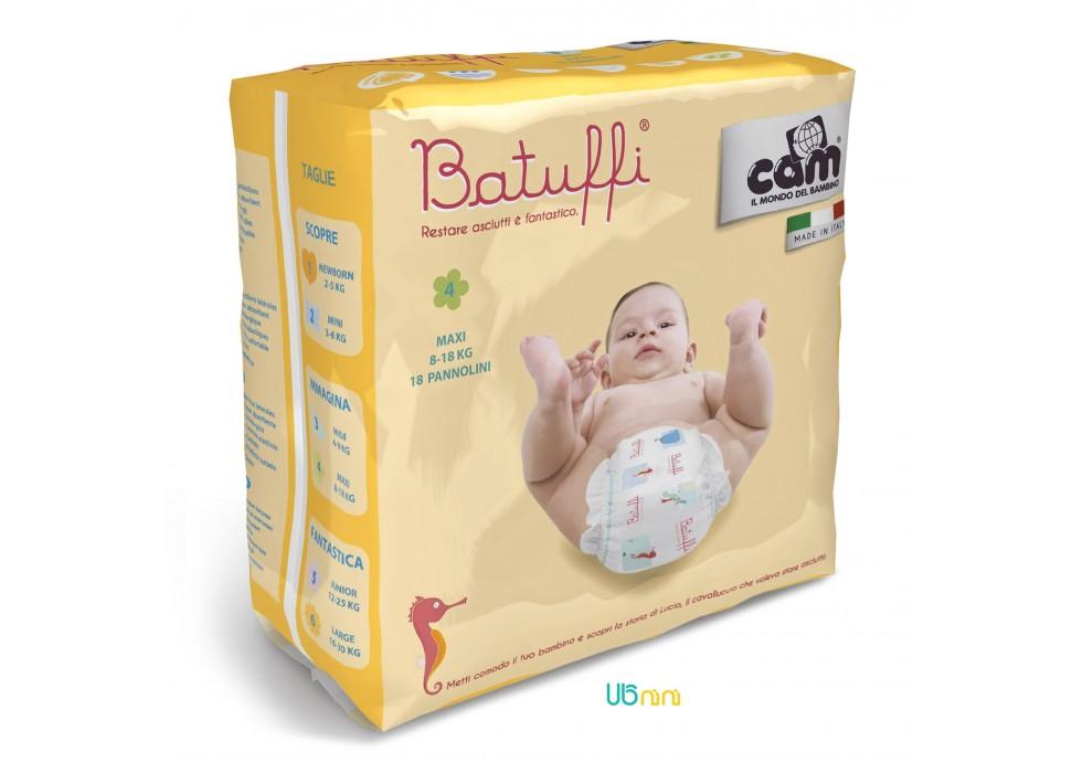 پوشک نوزاد کم-Cam  سایز (4) - 8 تا 18 کیلوگرم