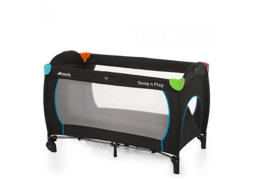 تخت و پارک بازی هاوک Hauck مدل Sleep ' n Play Go/Multi Color Black - کد 600702
