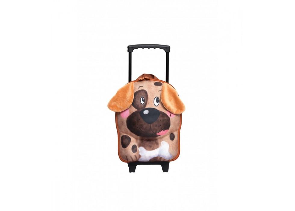 چمدان چرخدار کوچک کودک اوکی داگ OkieDog مدل سگ Dog - کد 80014